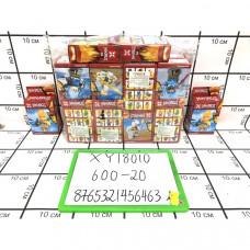 Конструктор Ниндзя 20 шт в блоке, 600 шт в кор. XY18010