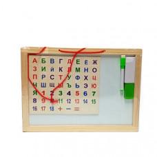 Доска писать-стирать, алфавит 50 шт в кор. 93-42