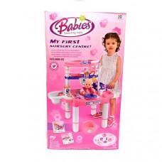 Набор для девочек, Покорми пупса 8 шт в кор. 008-02