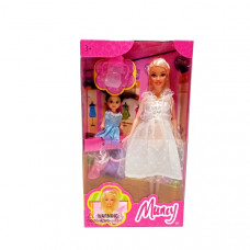 Кукла с пупсом 72 шт в кор. 6127