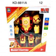 KD-8811A Робот (свет, звук) Р/У, 12 шт. в кор.