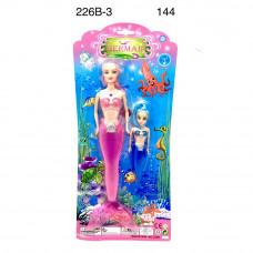 226B-3 Кукла Русалка с дочкой 144 шт в кор.