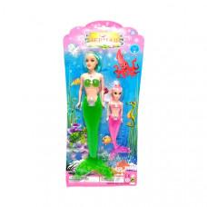 Кукла Русалка с дочкой, 144 шт. в кор. 226B-3