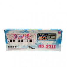 Синтезатор электронный (свет, звук), 24 шт. в кор. HS-3711B-1