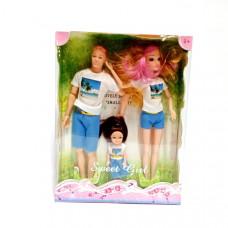 Куклы Семья, 72 шт. в кор. XH11A