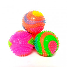 Мяч (пищалка, свет) 24 шт. в блоке, 480 шт. в кор. 8302