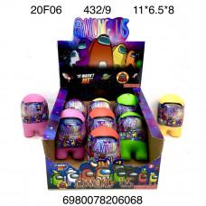20F06 Фигурки НЛО 9 шт. в блоке, 48 блока  в кор.