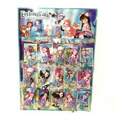 Куклы на листе 15 шт, арт. 21606