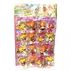 Куколки на листе 16 шт,а рт. 9668