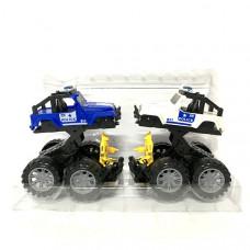 Машина Трансформер 2 шт. в наборе, 48 шт. в кор. 8586-A1
