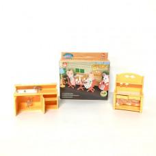 """Счастливая семья """"Набор мебели"""", 120 шт. в кор. 012-03B"""