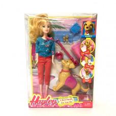 Кукла с собачкой 60 шт в кор. HB009