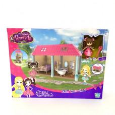Кукла с домиком Barbila набор 36 шт в кор. 30103