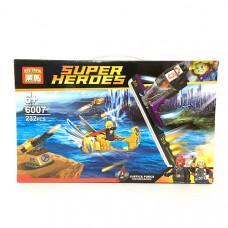 Конструктор Супергерои 232 дет., 72 шт. в кор 6007