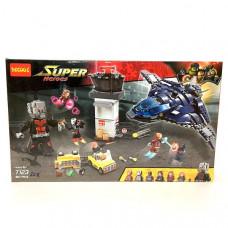 Конструктор Супергерои 807 дет., 20 шт. в кор. 7123