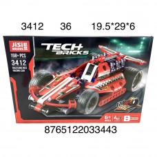3412 Конструктор Гоночная машина 158 дет., 36 шт. в кор.