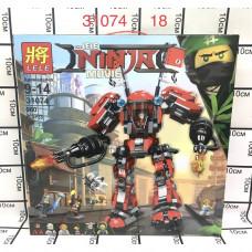 31074 Конструктор Ниндзя 980 дет. 18 шт в кор.