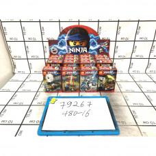 Конструктор Ниндзя, 16 шт в блоке. арт.79267