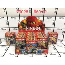 79026 Конструктор Ниндзя 12 шт в блоке, 960 шт в кор.