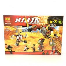Конструктор Ниндзя, 454 детали. арт.10525
