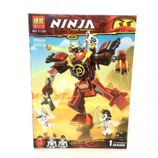 Конструктор Ниндзя 160 деталей. арт.11159