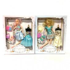 Кукла с гардеробом 72 шт в кор. 555G