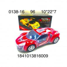 0138-16 Машинка (свет, звук), 96 шт. в кор.