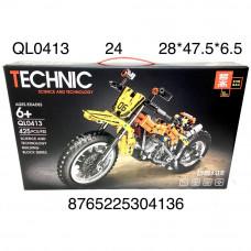 QL0413 Конструктор Мотоцикл 425 дет., 24 шт. в кор.