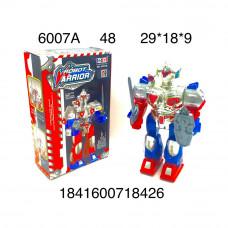 6007A Робот (свет, звук), 48 шт. в кор.