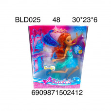 BLD025 Кукла Фея с аксессуарами, 48 шт. в кор.