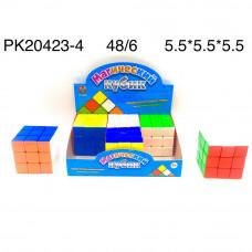 PK20423-4 Кубик-рубик 6 шт. в блоке, 48 шт. в кор.