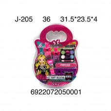 J-205 Набор косметики для девочки, 36 шт. в кор.
