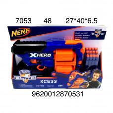 7053 Бластер с мягкими пулями, 48 шт. в кор.