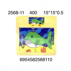 2568-11 Логика-игрушка Пазл (дерево), 400 шт. в кор.