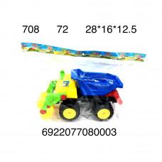 Машинка в пакете, 72 шт. в кор. 708