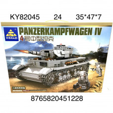 KY82045 Конструктор Танк 576 дет., 24 шт. в кор.