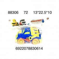 Машинка конструктор, 72 шт. в кор. 88306