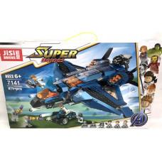 Конструктор Супергерои 875 дет., 12 шт. в кор. 7141