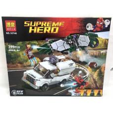 Конструктор Супергерои 399 дет., 48 шт. в кор. 10746