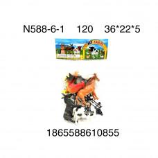 N588-6-1 Домашние животные в пакете, 120 шт. в кор.