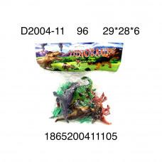 D2004-11 Динозавры в пакете, 96 шт. в кор.