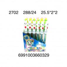 2702 Мыльные пузыри Зайчики 24 шт. в блоке,12 блоке в кор.