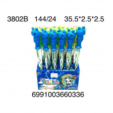 3802B Мыльные пузыри Лягушка 24 шт. в блоке, 144 шт. в кор.