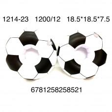 1214-23 Надувной Круг  мяч 12 шт в блоке, 1200 шт в кор.