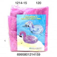 1214-15 Надувной круг фламинго 120 шт. в кор.