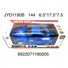 JYD1190B Машинка на батарейках свет звук 144 шт в кор.