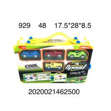 929 Набор машинок с автотреком 48 шт в кор.