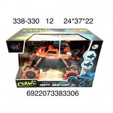 338-330 Машинка на радиоуправлении на катках 12 шт в кор.