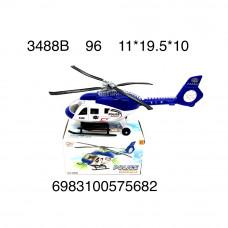 3488B Вертолет на батарейках свет звук 96 шт в кор.