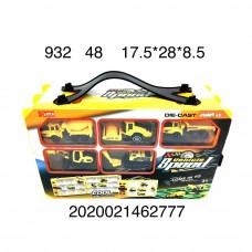 932 Набор машинок с автотреком 48 шт в кор.